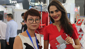 Vegas Biotech attend beauty fair all over the world